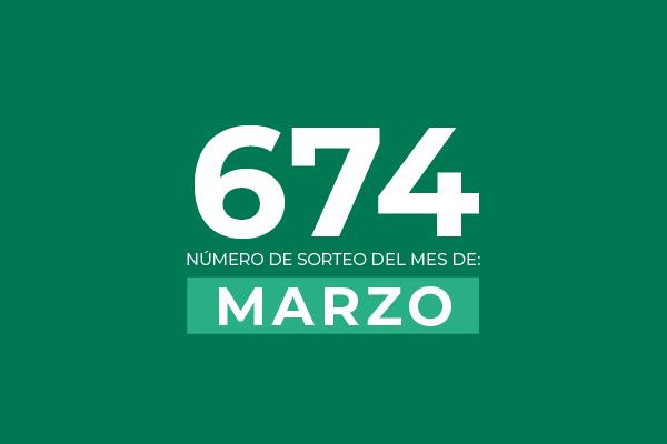 Sorteo Marzo 2020