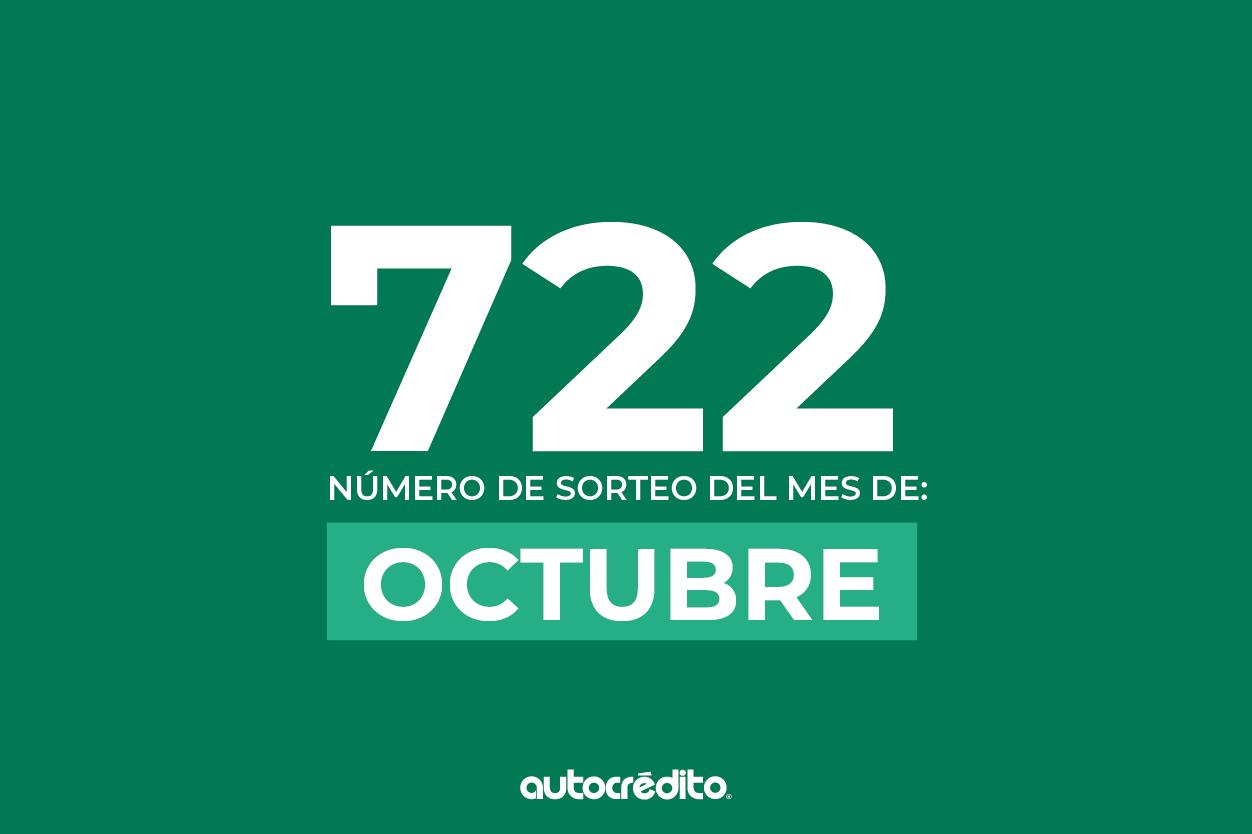 Número favorecido de octubre