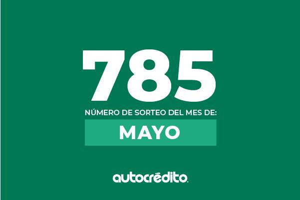Número favorecido de mayo